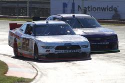 Alex Tagliani, Team Penske Ford dan Regan Smith, JR Motorsports Chevrolet