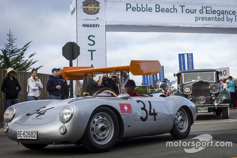 Ugo Gussalli Beretta, Porsche 550RS Spyder 1955