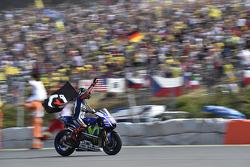 Ganador: Jorge Lorenzo, Yamaha Factory Racing