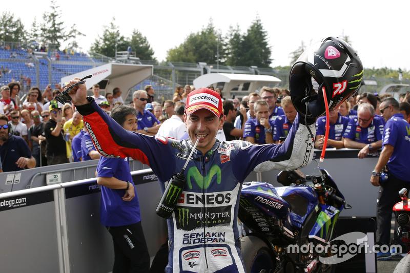 Pemenang balapan: Jorge Lorenzo: Yamaha Factory Racing