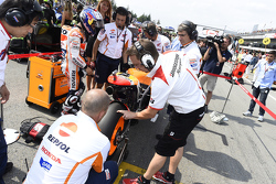 Startaufstellung: Dani Pedrosa, Repsol Honda Team