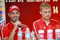 Gaurav Gill and Pontus Tidemand, Team MRF