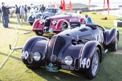 Pierre F. Mellinger, 1938 Alfa Romeo 6C 2300B MM Touring-style Spider Corsa