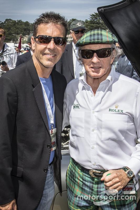 Scott Pruett dan Sir Jackie Stewart