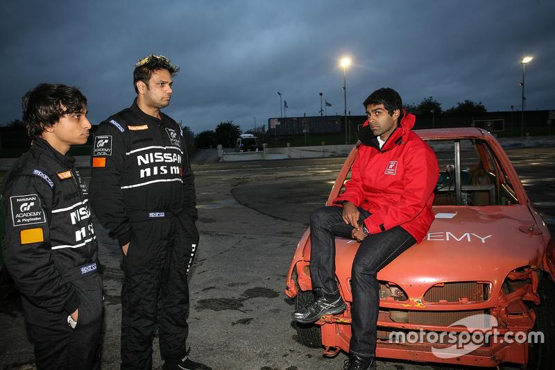 Karun Chandhok and Indian participants