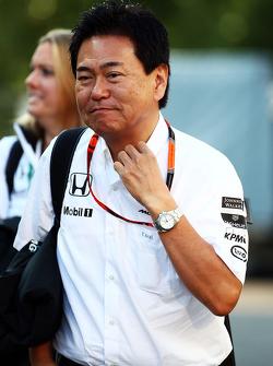 Ясухиса Араи, руководитель Honda Motorsport