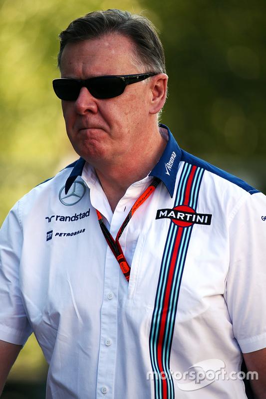 Mike O'Driscoll, Williams Grup CEO'su