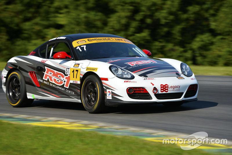#17 RS1 Porsche Cayman: Spencer Pumpelly, Luis Rodriguez Jr.
