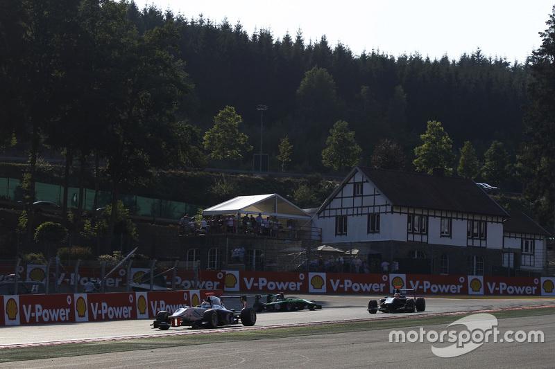 GP3 Series 2015 Seri Ke- 5.   Spa-Francorchamps, Spa, Belgia. Sabtu 22 Agustus 2015.Matthew Parry, Koiranen GP