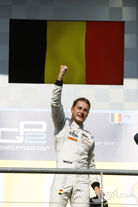 Vencedor Stoffel Vandoorne, ART Grand Prix