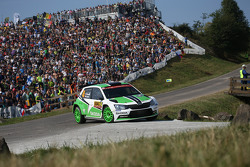 Jan Kopecky and Pavel Dresler, Skoda Motorsport Skoda Fabia R5