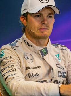 Nico Rosberg, Mercedes AMG F1 di FIA Press Conference