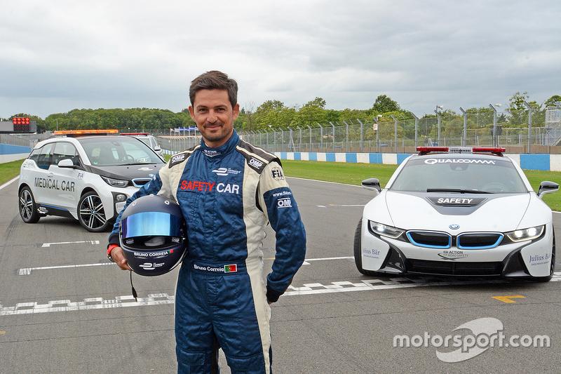 Bruno Correia, pembalap safety car