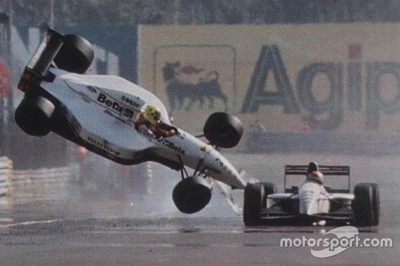 GP da Itália de 1993 - A foto explica