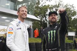 Jenson Button und Liam Doran
