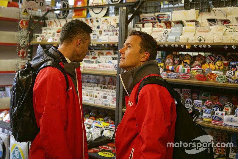 Andre Lotterer dan Marcel Fassler, Audi Sport Team Joest