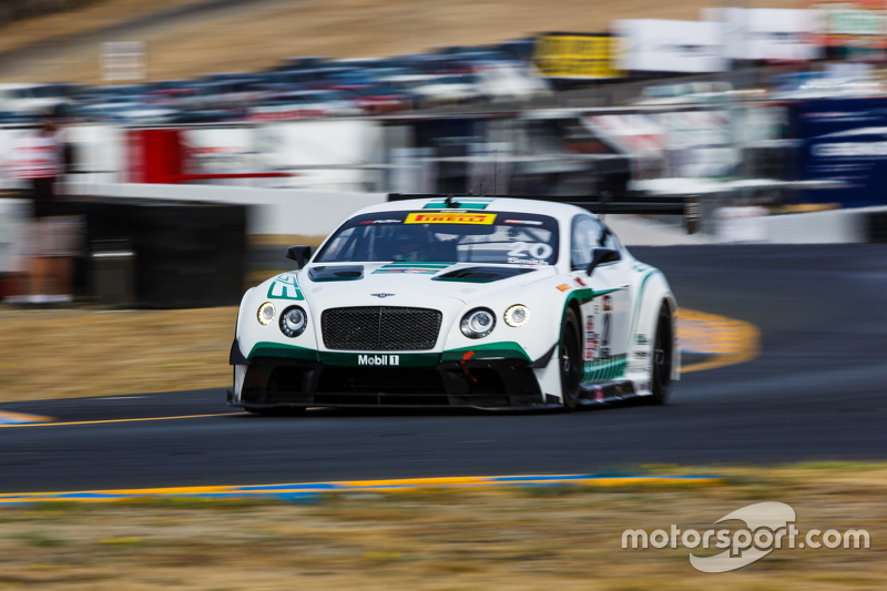 #20 Bentley Team Dyson Racing Bentley Continental GT3: Guy Smith