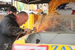 Athenia Motorsports crew member