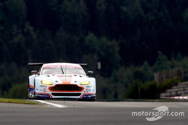 #95 Aston Martin Racing Aston Martin Vantage GTE: Marco Sorensen, Christoffer Nygaard