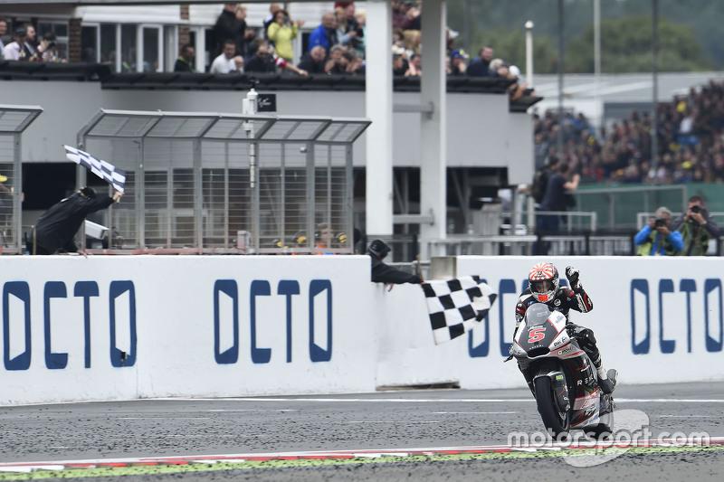 Johann Zarco, Ajo Motorsport remporte la course