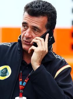 Federico Gastaldi, Lotus F1 Team Director Adjunto del Equipo