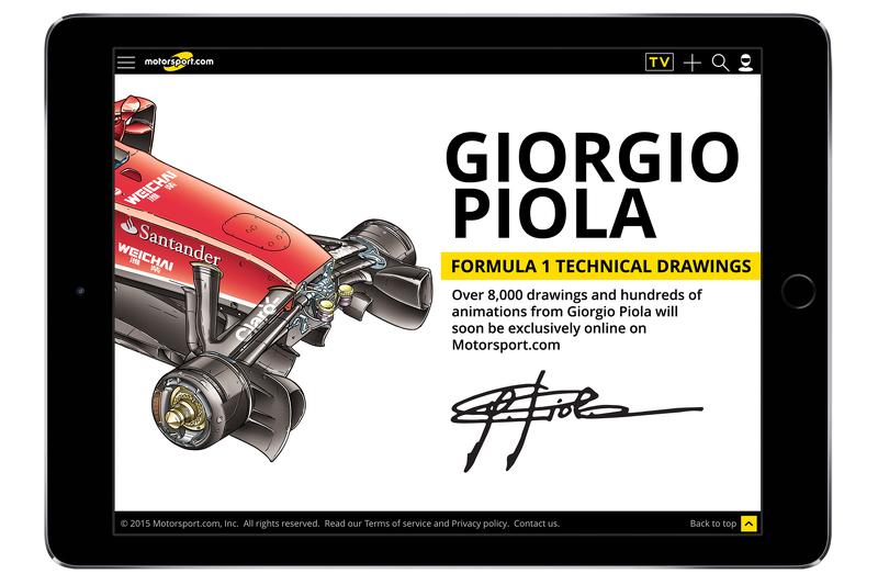 Bekanntgabe Giorgio Piola
