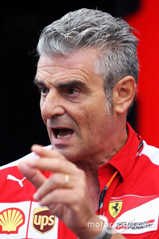 Maurizio Arrivabene, Ferrari Takım Patronu