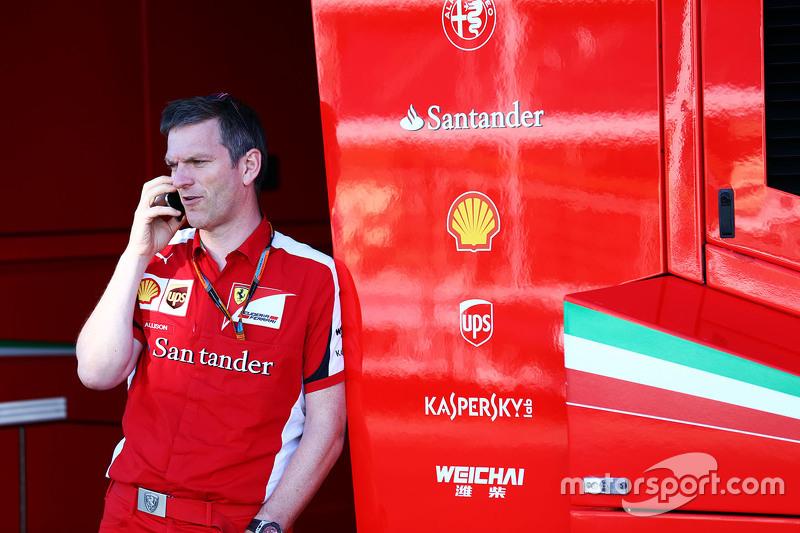 Джеймс Еллісон (GBR) Ferrari Технічний директор з шасі