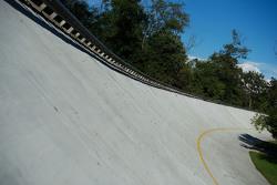 A inclinação de Monza