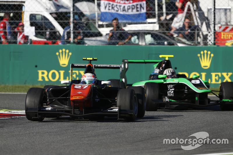 Лука Гніотто, Trident лідирує  Алекс Фонтана, Status Grand Prix