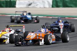 Michele Beretta, Mücke Motorsport Dallara Mercedes-Benz and Arjun Maini, Van Amersfoort Racing Dalla