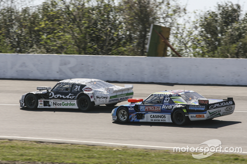 Laureano Campanera, Donto Racing Chevrolet and Martin Ponte, Nero53 Racing Dodge