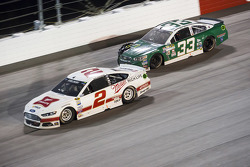 Brad Keselowski, Team Penske Ford e Mike Bliss, Chevrolet