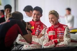 Aditya Patel, Team Audi R8 LMS Cup con Rahel Frey, Castrol Racing Team