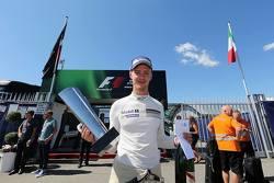 Matteo Cairoli festeggia i due secondi posti conquistati a Monza