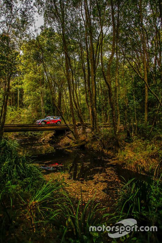 Daniel Sordo en Marc Marti, Hyundai i20 WRC, Hyundai Motorsport