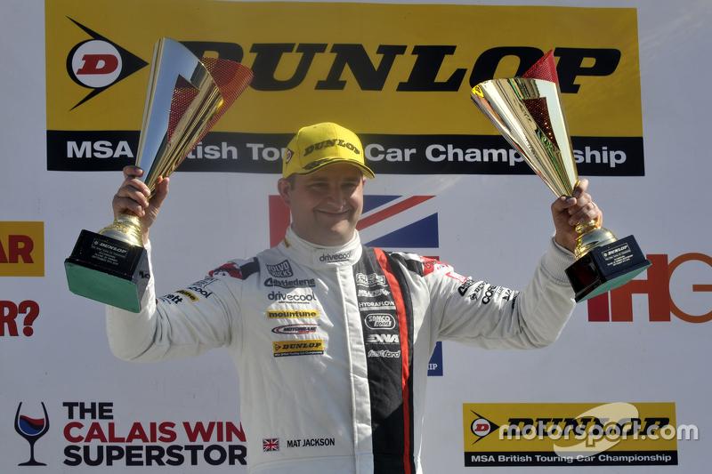 Race 1, Round 22 Race winner Mat Jackson