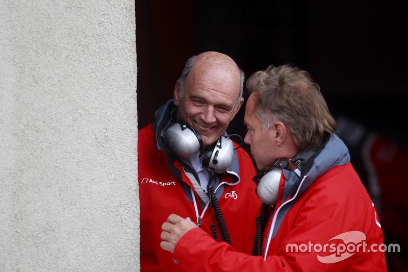 Dr. Wolfgang Ullrich, Audi-Sportchef
