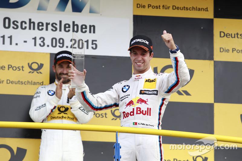 Podium: 3. Antonio Felix da Costa, BMW Team Schnitzer, BMW M4 DTM