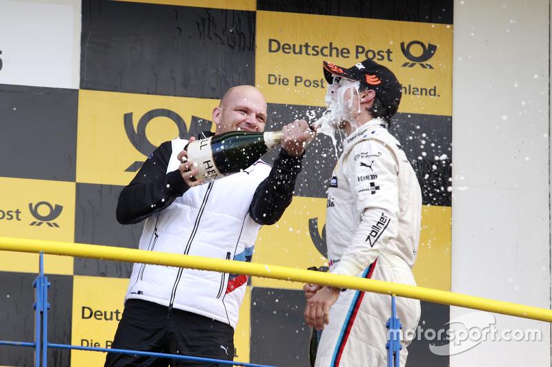 Podium: Ernest Knoors, BMW Team MTEK and Bruno Spengler, BMW Team MTEK BMW M4 DTM