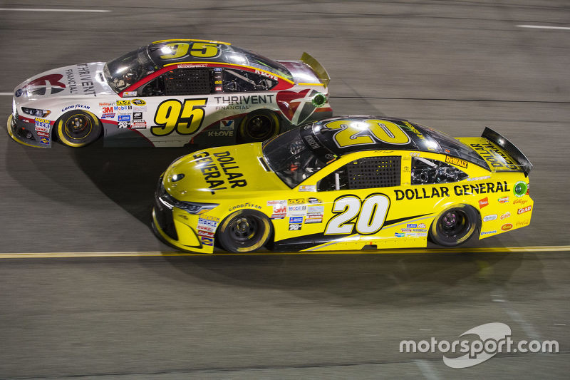 Michael McDowell ve Matt Kenseth, Joe Gibbs Racing Toyota