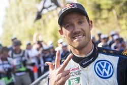 1. und Rallye-Weltmeister 2015: Sébastien Ogier, Volkswagen Motorsport