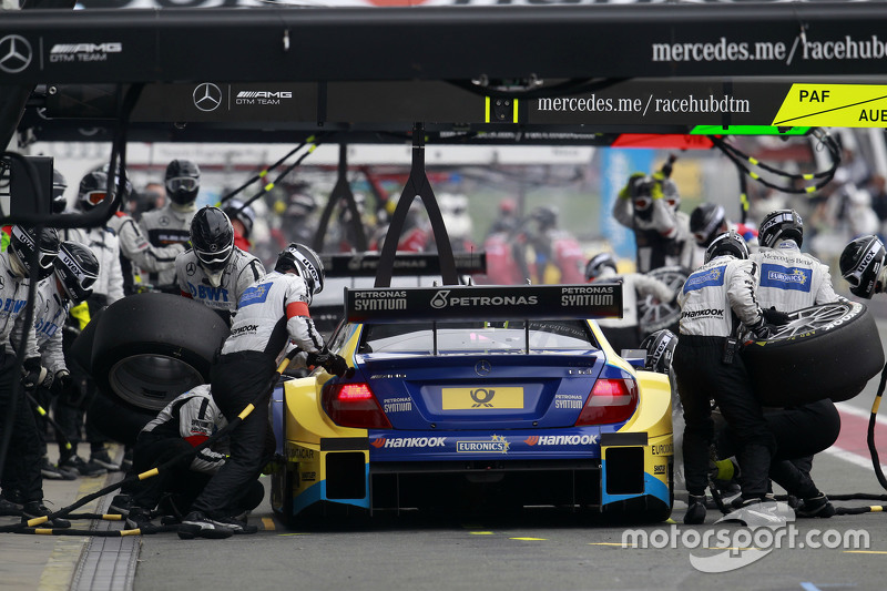 Boxenstopp von Gary Paffett, ART Grand Prix, Mercedes-AMG C63 DTM