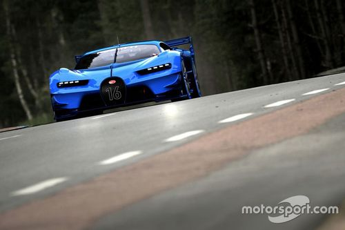Bugatti Vision Gran Turismo voorstelling