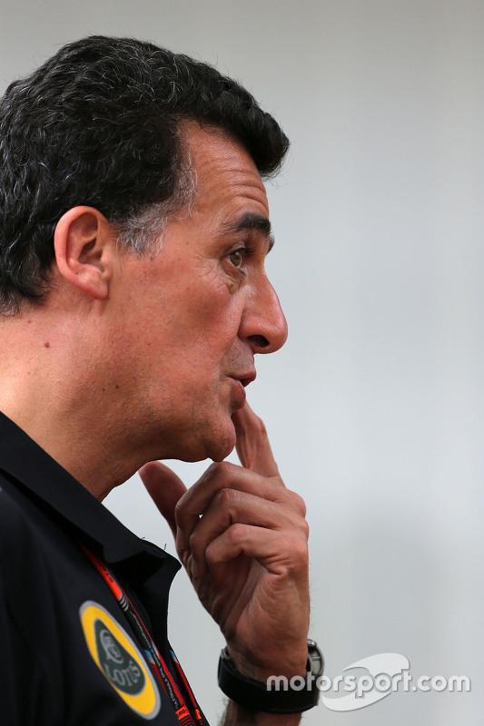 Federico Gastaldi, Lotus F1 Team Deputy Team Principal