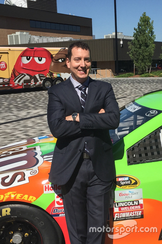 Kyle Busch, Joe Gibbs Racing Toyota visited ESPN
