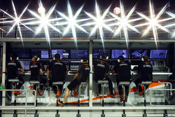 Sahara Force India F1 Team, Kommandostand
