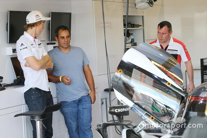 Brendon Hartley, Porsche Team and Juan Pablo Montoya