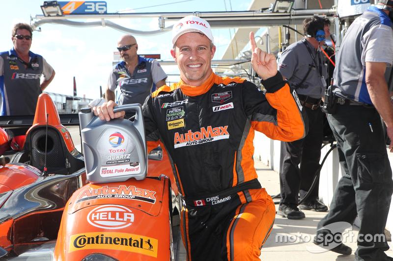 PC володар поулу #11 RSR Racing Oreca FLM09 Chevrolet: Кріс Каммінг, Бруно Джанкейра