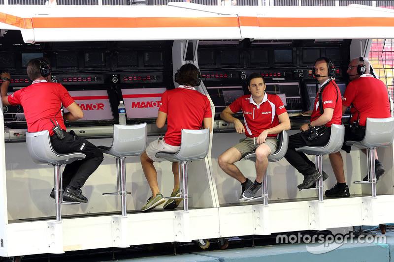 Fabio Leimer, Manor Marussia F1 Team, Ersatzfahrer